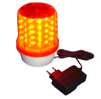 Rechargeable Red LED Police Beacon Light