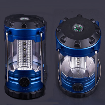 Stepless Dimmable Dimmer 12 LED Camping Lanterns Lights