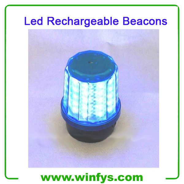 Red Yellow Blue Rechargeable Led Beacons