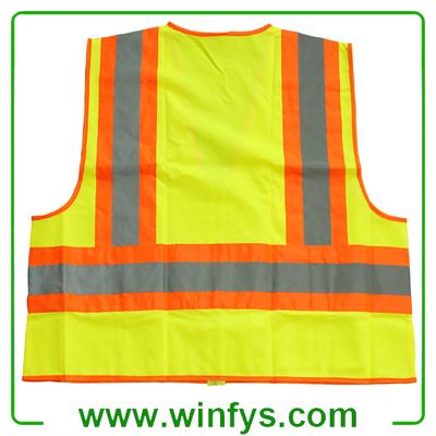 High-Visibility Motorcycle Reflective Safety Vest