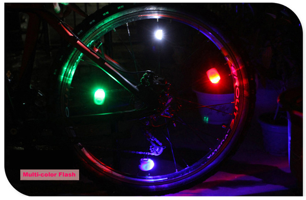 Bicycle Accessories LED Silicone Bicycle Light & LED Bike Tail Light LED Bicycle Light Flash Light