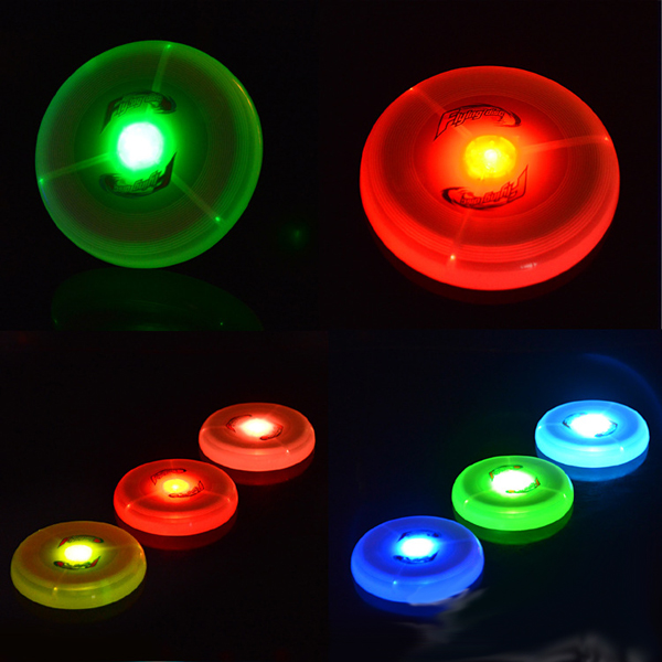 led flashing flying frisbee disc
