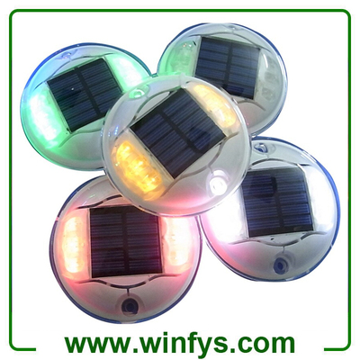 Led Solar Road Markers Solar Road Studs IP68 Round Solar Pavement Markers