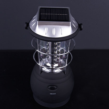 36 LED Crank Dynamo Solar Camping Lights Lanterns Lamp with Ni-MH Battery