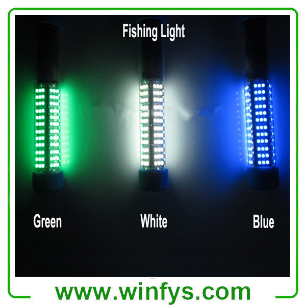 IP68 12V LED Underwater Green Fishing Light Stick Submersible Fishing Light