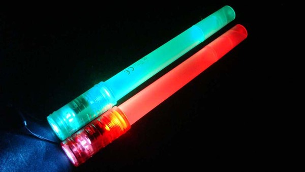 Glow LED Stick with whitle