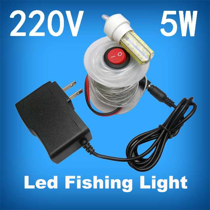 12V LED Underwater Green Fishing Light Stick Submersible Fishing Light