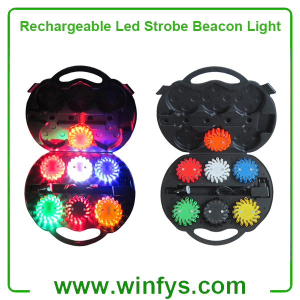 Rechargeable Led Strobe Beacon Light