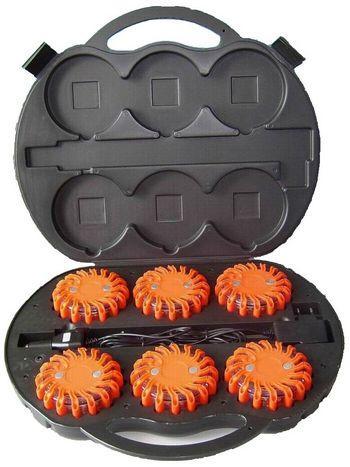 LED Road Flare kit 6pcs pack
