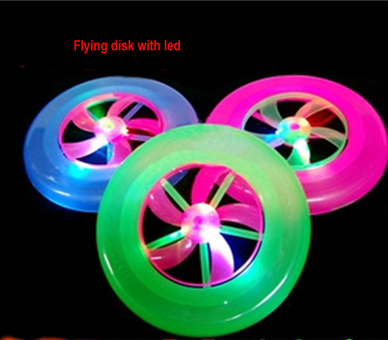 Led Flashing Frisbee, Led Sports Firsbee