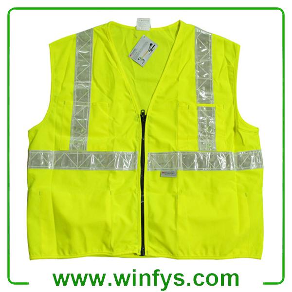 High-Visibility Reflective Safety Vest