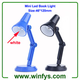 Clip Led Mini Desk Light Black Blue