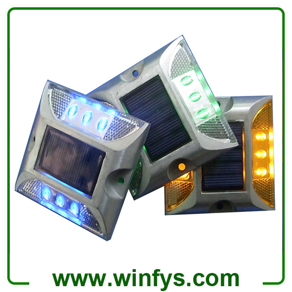 IP68 Aluminum Solar Led Road Studs Led Road Markerss Light Without Post