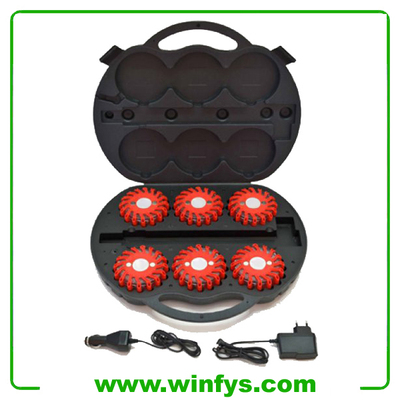 6-Pack Rechargeable Led Power Flash Powerflash