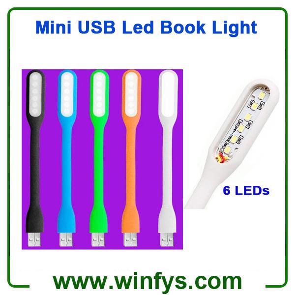 Flexible Mini USB Led Book Light