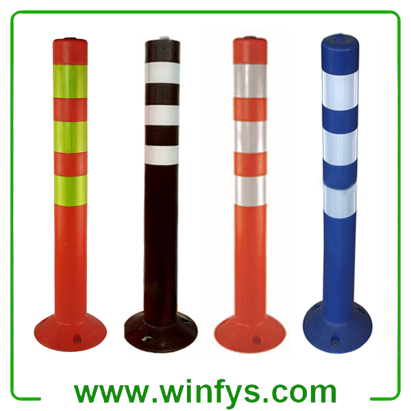 Flexible Plastic Traffic Bollards