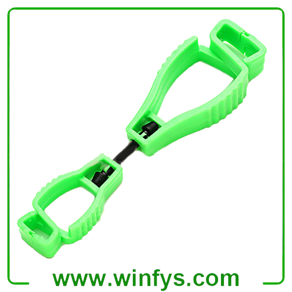 Green Glove Holder POM Glove Clips Glove Guard Clips Glove Grabber Glove Clip Keeper