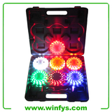 Rechargeable Led Power Flares 6 pack