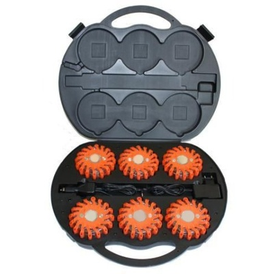 6 Packs Rechargeable Led Safety Flares