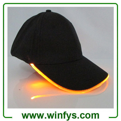 Red Yellow Blue Orange White Pink Led Sports Hat Led Cap Led Baseball Cap Led Flashing Cap LED Hat