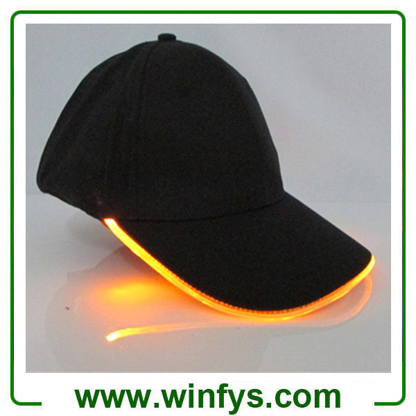 Red Yellow Blue Green Orange White Pink Led Sports Hat Led Cap Led Baseball Cap Led Flashing Cap LED Hat