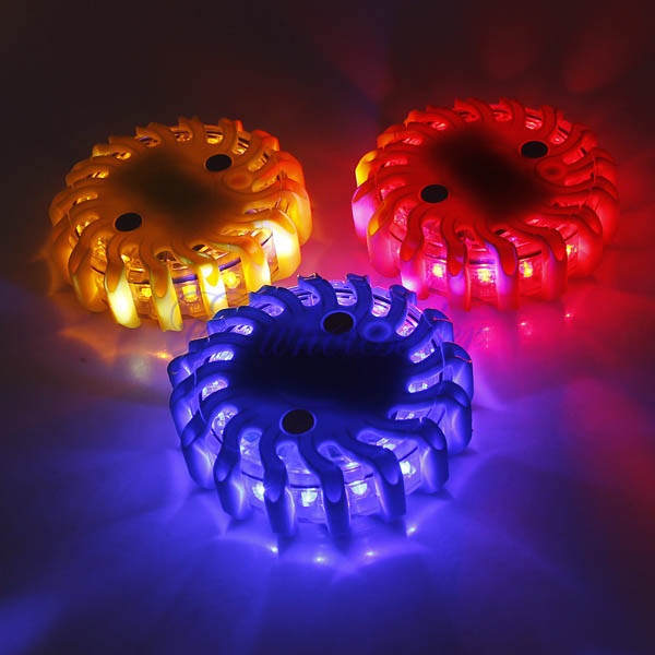 Safety Light Fixtures : Led flares power road factory