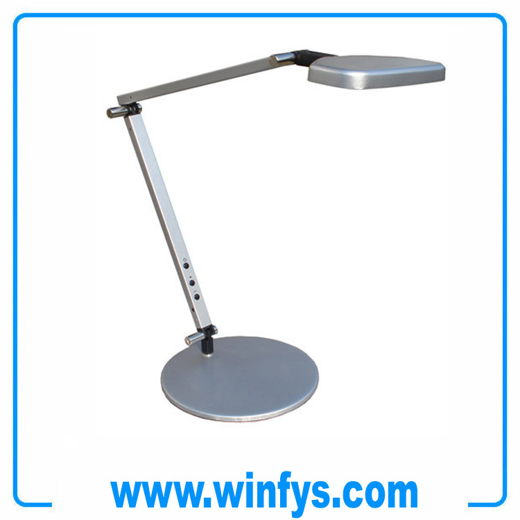 12V 6W Foldable Aluminium Touch Dimmable Led Table Lamp