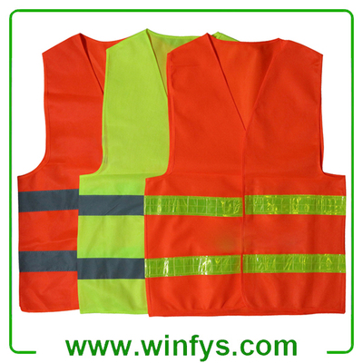 Red Yellow Orange Cheap Safety Vest