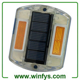Plastic Solar Powered LED Road Pathway Markers Solar Pathway Studs Driveway Lights