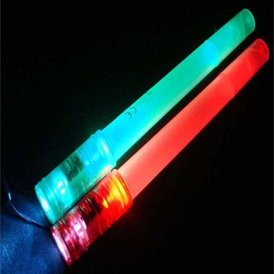 LED Glow Stick Flashlight With Whistle
