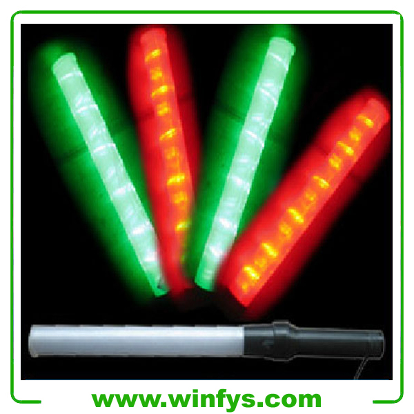 1.21 inches 54cm Red Green Led Baton Led Traffic Baton