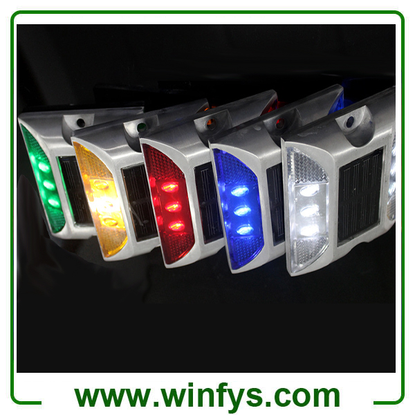 ALUMINUM SOLAR LED PAVEMENT MARKERS SOLAR ROAD MARKERS SOLAR PAVEMENT MARKERS