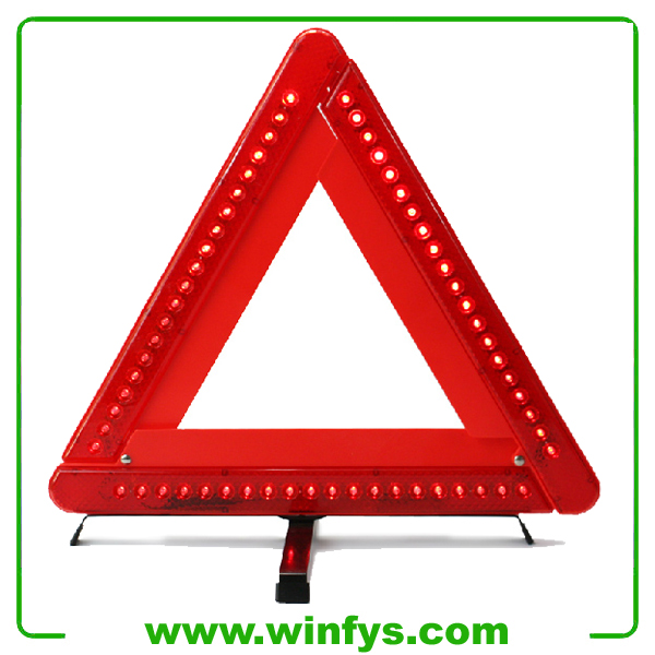 Collapsible Foldable 60 LED Warning Triangles