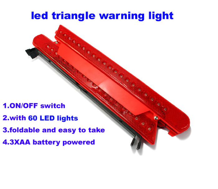 Magnetic Led Warning Triangle