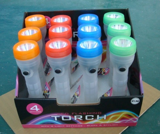 LED Glow Flashlights