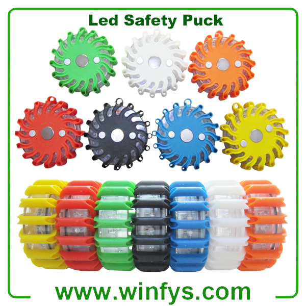 Led Safety Puck
