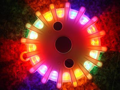 traffic led flares