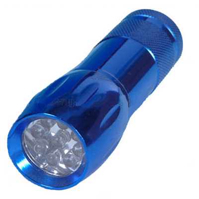 9 LED Aluminum LED Torchlight