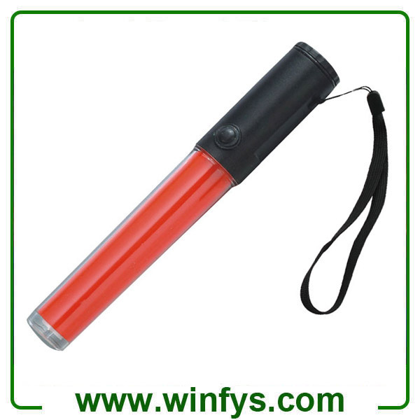 26cm PC Tube Led Red Traffic Wands