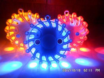 led flashing flares