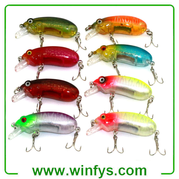 Minnow Fishing Lures Crankbaits Hooks Minnow Fishing Baits Tackle