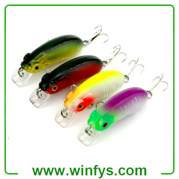 Minnow Fishing Lures Crankbaits Hooks Minnow Baits Tackle