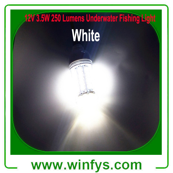 12V 27LED Underwater Green Blue White Fishing Lights