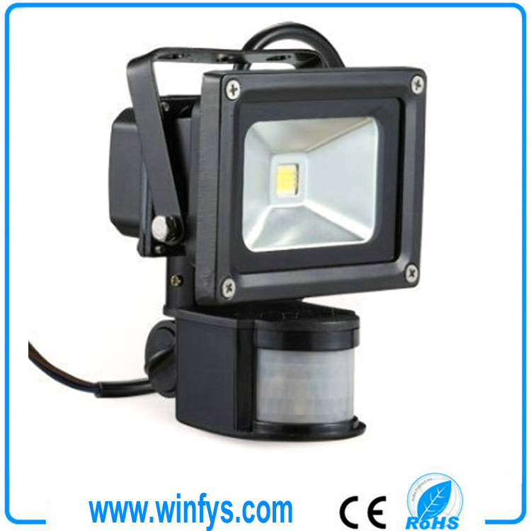 CE/RoHS Sensor Led Flood Light 10W 20W 30W 50W 70W 100W