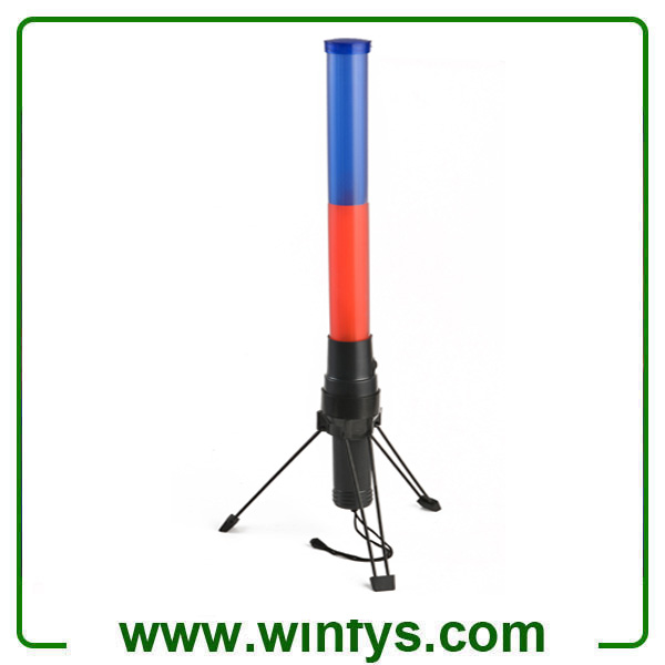 41cm 2XD Battery Red Led Traffic Wands Led Traffic Batons Led Batons With Tripod