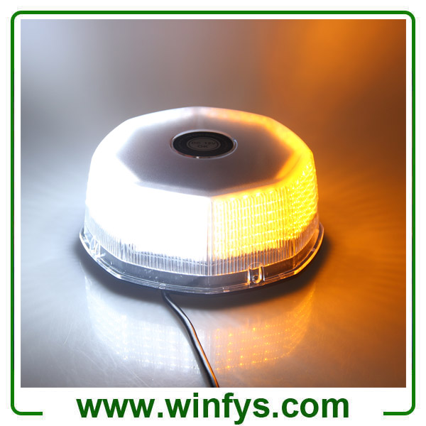 12V 240LED Car Truck Vehicle Beacon Light Magnetic Flash Beacon Light Led Emergency Warning Strobe Lights White Blue