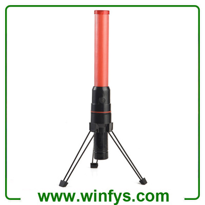 41cm 2xd battery red led traffic wands led traffic batons for Signal wand