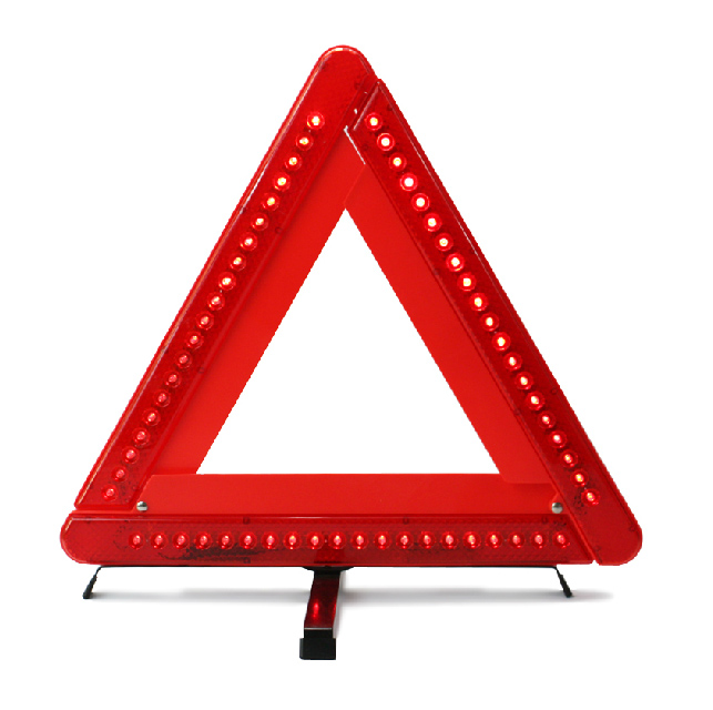 led triangle warning light