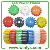 Amber Yellow Green Red Blue White Black Led Road Flares Led Power Flares Led Flares