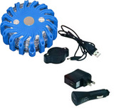 Blue Rechargeable Led Road Flares